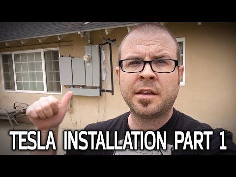 MORE POWER! My Tesla Installation Part 1: Main Panel Upgrade
