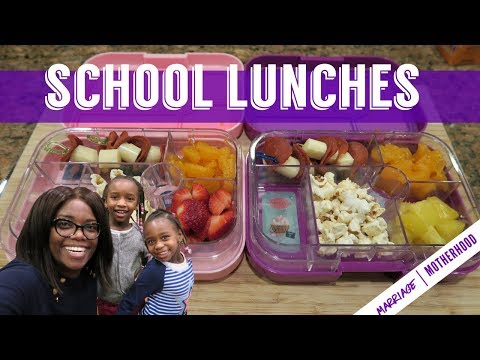 Kids pack their own SCHOOL LUNCHES // Bento school lunch ideas