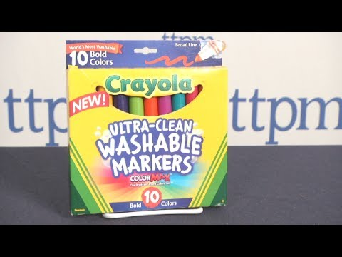 Ultra-Clean Washable Markers & Colored Pencils from Crayola
