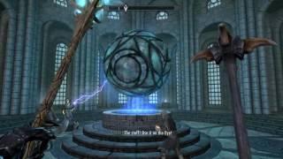 Skyrim Special Edition Defeating Ancano