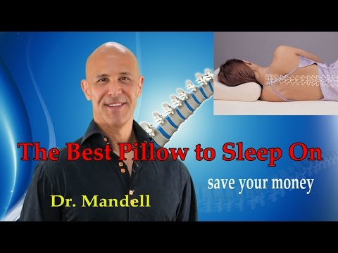 Save Your Money Buying the Best Neck Pillow to Sleep On - Dr Mandell