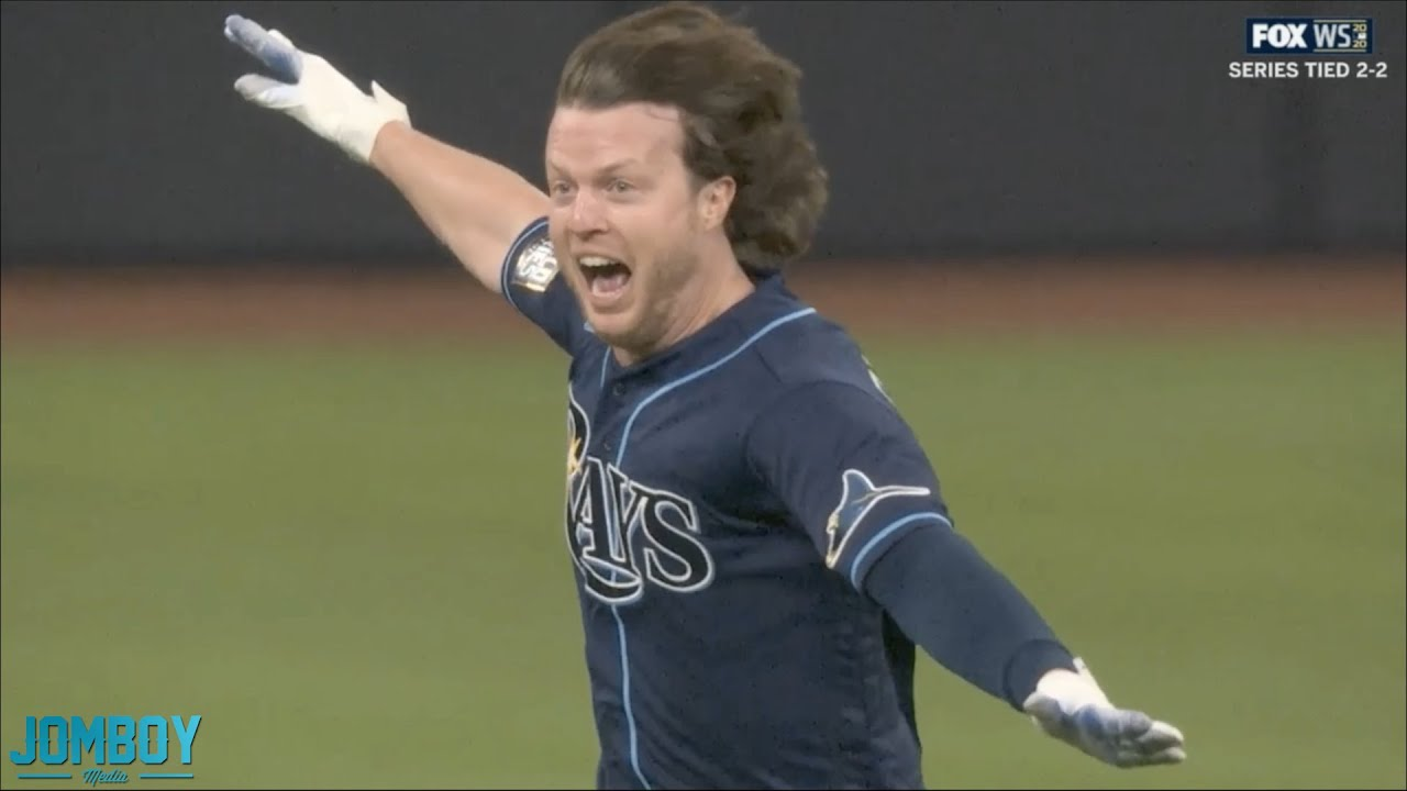 The Rays win game 4 of the World Series on a WILD play, a breakdown