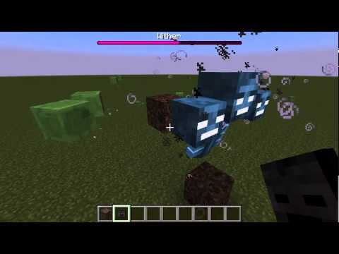 How to make a wither in Minecraft!