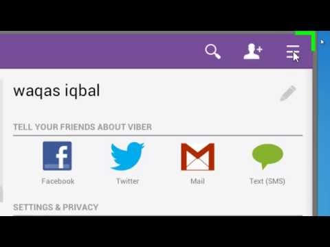 How to block & unblock number on viber