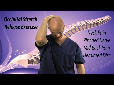 Occipital Stretch Release Exercise for Instant Neck Pain Relief & Pinched Nerve - Dr Mandell