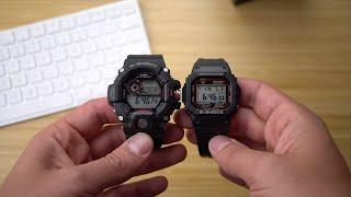 The best digital G-Shocks: The Rangeman GW9400 and the GWM5610