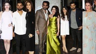 Zaheer Khan & Sagarika Ghatge ENGAGEMENT   Virat, Anushka, Yuvraj, Sachin, Rohit