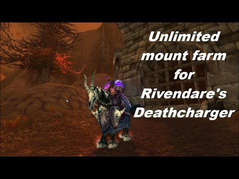 WOW super easy unlimited mount farm for the Rivendare's Deathcharger!
