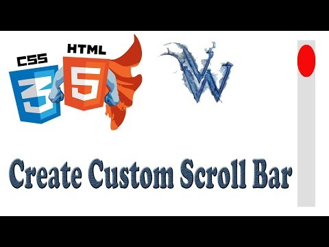 Custom Scrollbar CSS HTML | Learn html and css | By Amazing Techno Tutorials