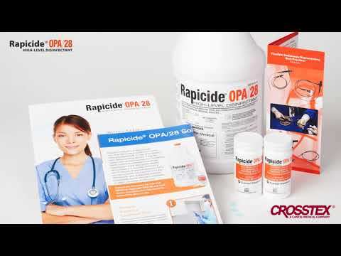 Rapicide® OPA28 - The Power of One High Level Disinfectant