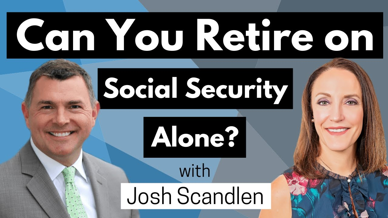 Can you Retire on Social Security Alone? (Josh's Best Tips)