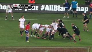 New Zealand vs England 07.06.2014 - Rugby Test Match - HD