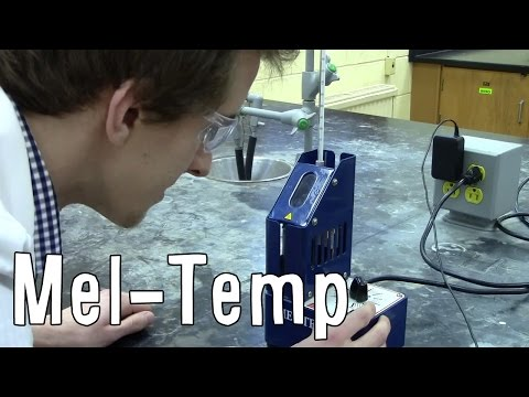 Melting Point Determination - The Mel-Temp