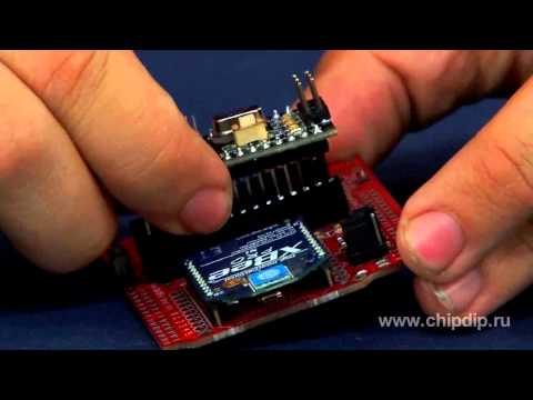 XBee Shield, a card for wireless modules XBee ...