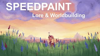 SPEEDPAINT- Puck and the Magic Flute Lore/Worldbuilding!