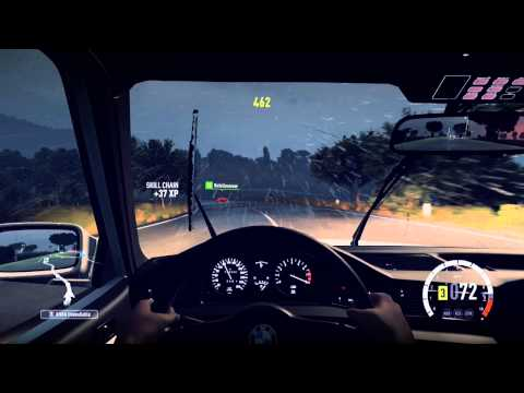 Forza Horizon 2 testing the bmw m5 (1998)