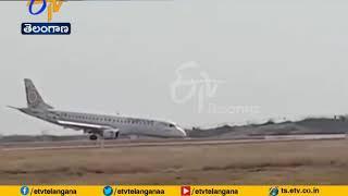 Pilot Lands Myanmar Plane Safely Without Front Wheels | as Landing Gear Fails