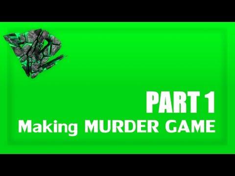 ROBLOX Development - Murder Game [PART 1] [FilteringEnabled]