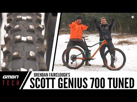 Brendan Fairclough's Scott Genius 700 Tuned | GMBN Tech Pro Bikes