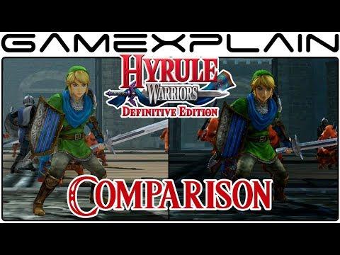 Hyrule Warriors: Definitive Edition Head-to-Head Comparison (Switch vs. Wii U)