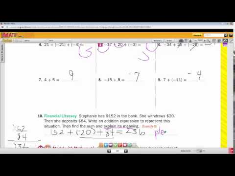 Setting Up Your Classes, Glencoe Math - Algebra 2 Common