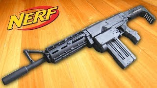 INCREDIBLE BLACK NERF RETALIATOR MOD TOY GUN - Painted Realistic Nerf Guns