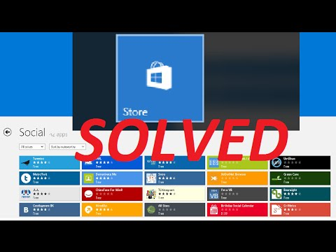 Solved! Windows Store Not Working/Won't Open | Windows 10