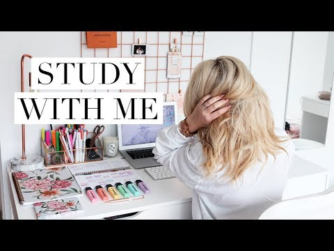 Study With Me #7 | American Law School Student