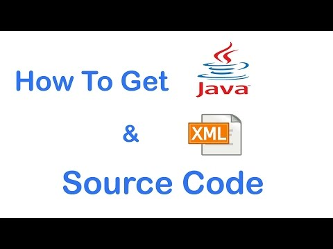 How to get android application source code java & xml file 2017