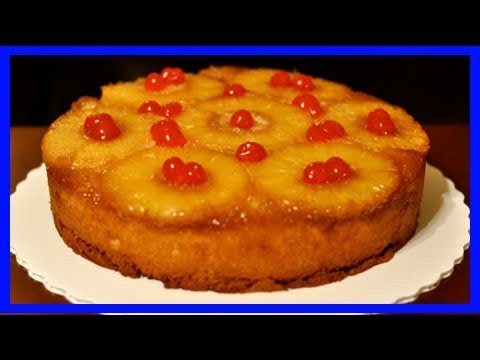 Make a pineapple upside-down cake with whatever heat source you have on hand