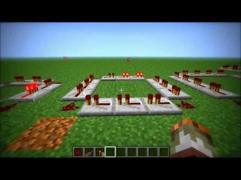 Minecraft - Redstone Repeater Clock Tutorial (HD)