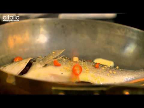 Gennaro Contaldo's Sea Bream in 'Crazy Water'  Recipe | Citalia