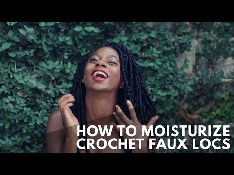 How To Moisturize Crochet Braids | Goddess Faux Locs