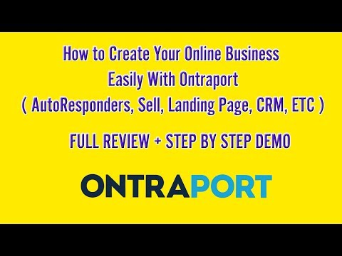 Ontraport Review - I Have Buy and Tried Ontraport Personally