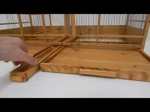 The most beautiful wooden hand-made cage in the world