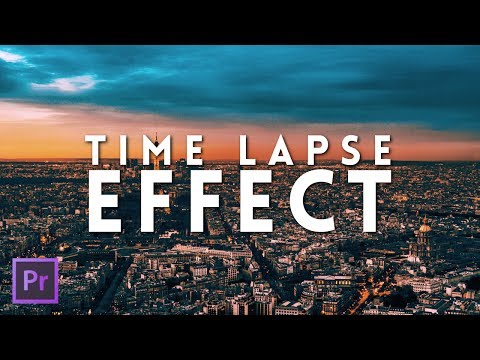 How To Make a Time Lapse in Adobe Premiere Pro CC 2017   Premiere Pro Tutorial 2017