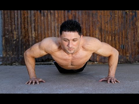 how many pushups a day to get ripped