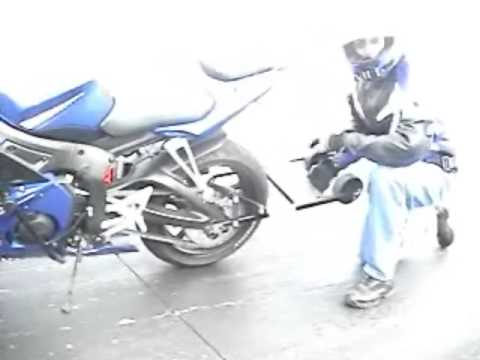 Learn How To Wheelie a Sportbike with new device #3