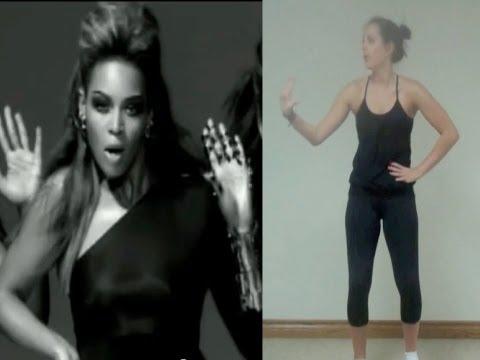 Beyonce 'Single Ladies' Dance Tutorial Part 2