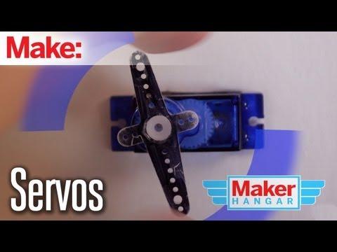 Maker Hangar: Episode 5 - Servos