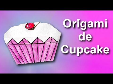 Origami de Cupcake