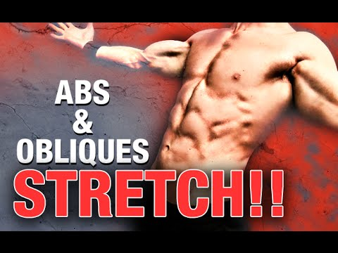 Abs and Oblique Stretch (TIGHT ABS FIX!)