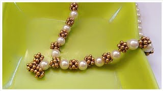 How To Make Antique Necklace At Home..