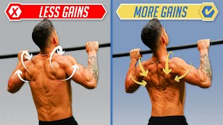 How To Get MORE Gains From Pull-Ups (4 Mistakes You Need To Fix)