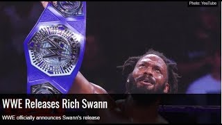 Rich Swann Released from WWE! Rich Swann Cancelled from WWE 205 Live wwe news