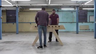 The Opendesk Foosball Table