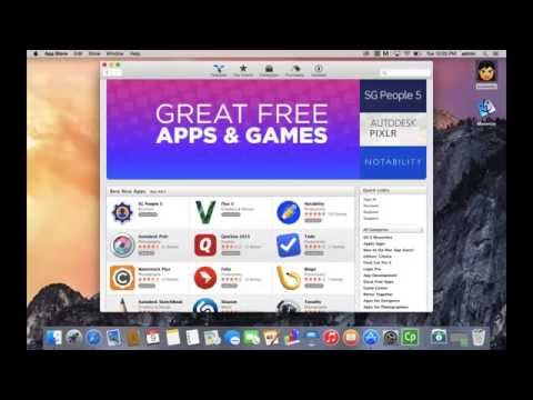 How to Download and Install Mac Apps from the App Store - Free!