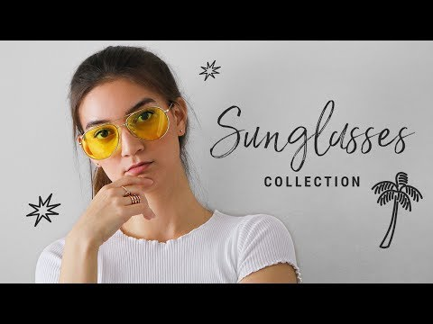 my sunglasses collection (designer & affordable)!