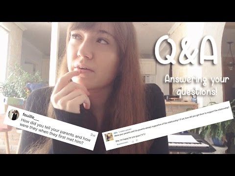 How was it meeting his parents? | Q&A
