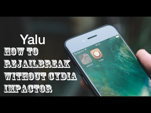 How To Rejailbreak Without Cydia Impactor On IOS 10.1-10.2